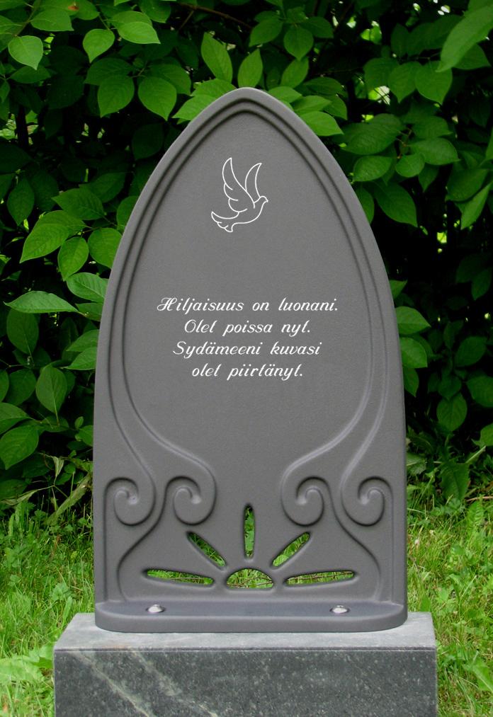 Hautamuistomerkki, Hiljaisuus on luonani